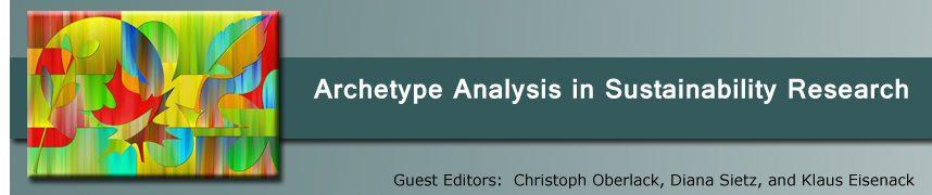 Archetype Analysis in Sustainability Research